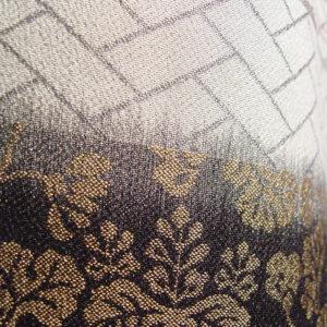 経絣紋織り