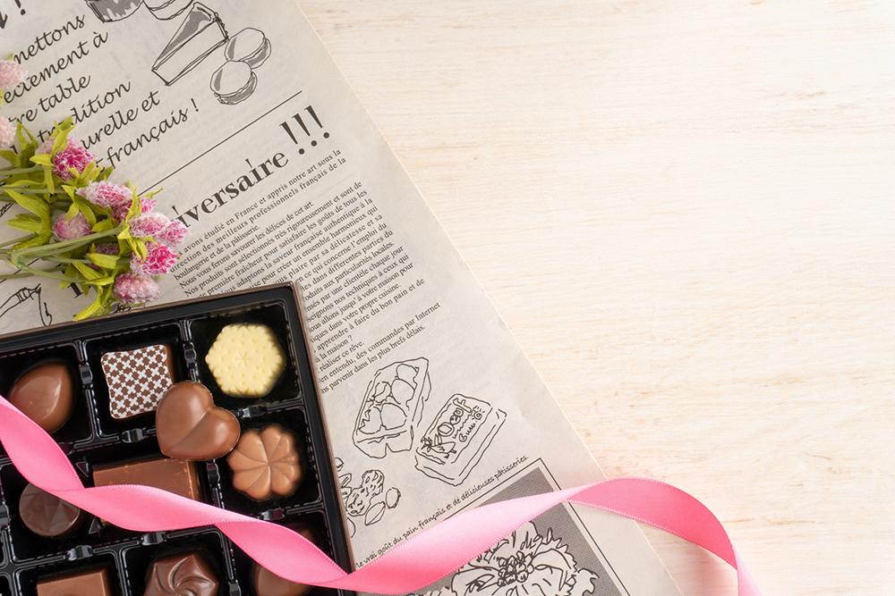 チョコレートの検索時期