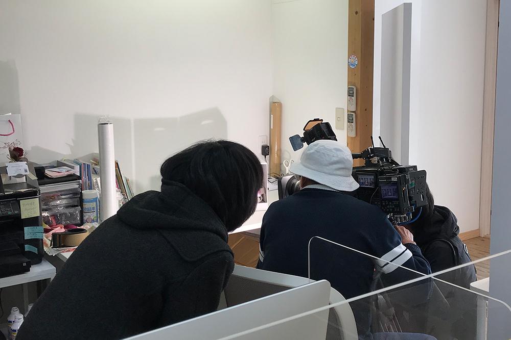 日本テレビ・news every取材風景