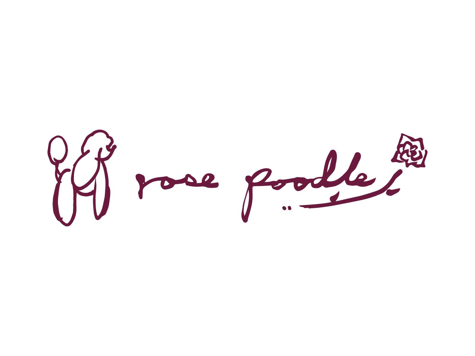 ローズプードルのロゴ